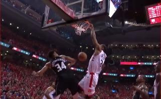 NBA Top 5 viršūnėje - K.Leonardo dėjimas per G.Antetokounmpo