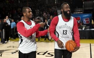 """Grandioziniai mainai: Ch.Paulas išmainytas į """"Rockets"""""""