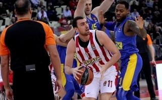 """""""Olympiacos"""" antrajame ketvirtfinalio mače versis be N.Milutinovo"""