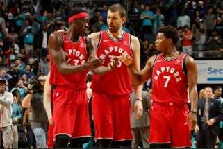 """""""Raptors""""svarsto galimybę kitą sezoną rungtyniauti Naujajame Džersyje"""