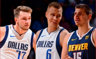 """NBA: N.Jokičiaus trigubas dublis """"europietiškoje"""" dvikovoje bei J.Butlerio debiutas """"Heat"""""""