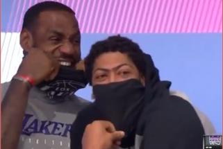 """Juokais plyšę """"Lakers"""" lyderiai stebėjo savo klubo sutriuškinimą"""