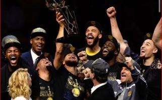 """2018 m. laimėtą titulą sumenkinęs """"Warriors"""" vadovas sulaukė K.Duranto atsako"""