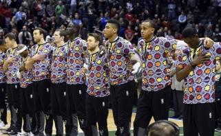 "C.Sageriui dedikuotą naktį pergales šventė ""Bucks"", ""Pelicans"", ""Nuggets"" ir ""Spurs"""