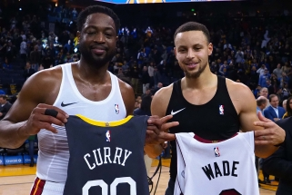 D.Wade'as: S.Curry pavojingiausias tuomet, kai jis be kamuolio