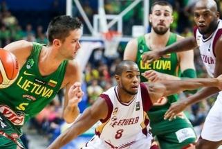 Lietuvos rinktinė sutriuškino Pietų Amerikos čempionus venesueliečius