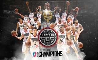 """Raptors"" dukterinė komanda - NBADL čempionė"