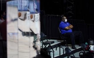 NBA įspėjo žaidėjus: nedėvėsite kaukių – būsite išvaryti iš Orlando burbulo