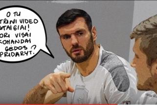 """Lietuvos krepšininkai kviečia sportuoti be patyčių: """"Patyčios kenkia bet kokiai komandai"""""""