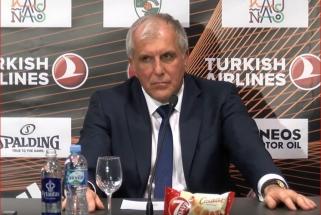 """Ž.Obradovičius liko sužavėtas atmosfera """"Žalgirio"""" arenoje: turite dėl to didžiuotis"""
