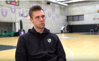 P.Valinskas: man svarbu trenerio pasitikėjimas; D.Bostas: esu pasirengęs žaisti