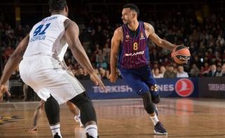 """""""Barcelona"""" tris kėlinius vargo su """"Budučnost"""" krepšininkais"""