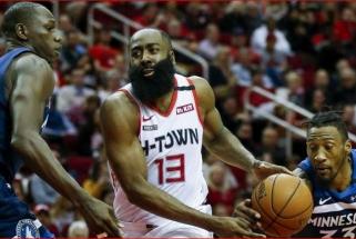 J.Hardenas tapo NBA antirekordo autoriumi