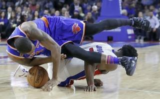 """M.Kuzminskas vėl nesulaukė savo minučių, o """"Knicks"""" pralaimėjo"""