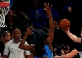 """K.Porzingis atliko net 23 metimus, bet """"Knicks"""" pralaimėjo namie (rezultatai)"""