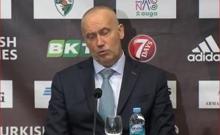 Karčią piliulę Kaune nurijęs Kurtinaitis dėl savo ateities galvos nesuka: dirbu savo darbą