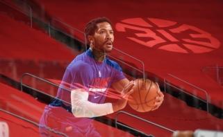 """Judesys NBA lygoje: """"Pistons"""" atsisveikino su savo žvaigžde Rose'u"""