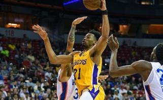 """Praėjusį sezoną """"Lakers"""" atstovavęs puolėjas žais Europos taurės klube"""