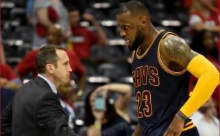 D.Blattas: Jordanas lenkia LeBroną - jis turi daugiau titulų ir mažiau akcentavo save