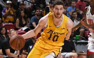 """""""Lakers"""" gali susigrąžinti ukrainietį gynėją"""