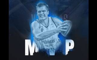 Geriausias savaitės žaidėjas – sezono rungtynes sužaidęs V. Lipkevičius