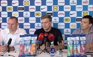 Į kalbas apie D.Motiejūną nesileidęs rinktinės strategas: A.Gudaitis lenkia prognozes 6-7 savaitėmis