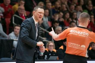 Š.Jasikevičius nedrausmingiausio trenerio titulą perdavė Ž.Urbonui