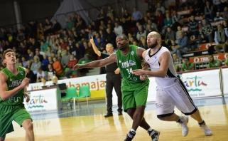 Puikus D.Milkos pasirodymas FIBA Europos taurės turnyre jo ekipos neišgelbėjo