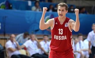 """Į Eurolygą žengiantis """"Zenit"""" priviliojo vieną Rusijos rinktinės lyderių"""