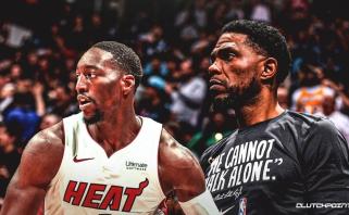 """Į """"Heat"""" lyderius įsiveržęs B.Adebayo nori sekti U.Haslemo pavyzdžiu - likti Majamyje visą karjerą"""