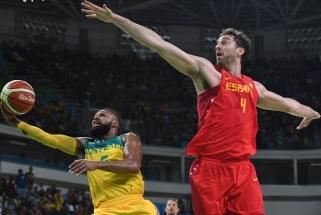 Australai liko be nieko: siautėjęs P.Gasolis dovanojo ispanams olimpinę bronzą