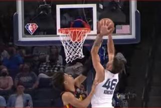 """""""Grizzlies"""" gynėjas sukūrė įspūdingiausią NBA nakties momentą (rezultatai)"""