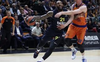 """Įspūdingai pataikę """"Fenerbahče"""" krepšininkai Valensijoje pasiekė revanšą"""