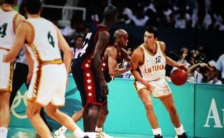 Karnišovo prisiminimai apie 1996 m. olimpinę bronzą: pasitikėjimas ir lietuviškos dainos Atlantoje
