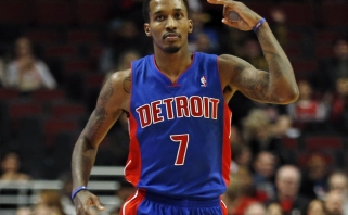 """""""Pistons"""" įžaidėjuii B.Jenningsui įtariamas Achilo sausgyslės plyšimas (epizodo video)"""