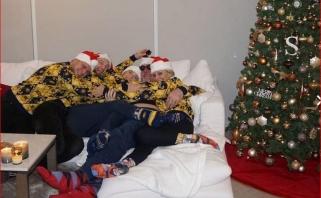 Domantas sulaukė svečių: Saboniai Kalėdas švenčia Indianoje