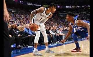 """NBA atkrintamosios startavo netikėtumu: """"Nets"""" atėmė namų aikštės pranašumą iš """"76ers"""""""