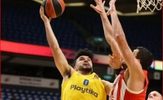 """""""Maccabi"""" patyrė pirmąją nesėkmę Izraelio pirmenybėse"""