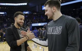 """LeBronas sugrąžino """"Lakers"""" į pergalių kelią, Dončičius triuškino """"Warriors"""" (rezultatai)"""