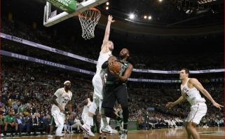 """D.Sabonio vakaras Bostone: žvėriškas dėjimas, kraujas ir nugalėti """"Celtics"""""""
