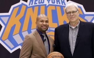 """NBA lekia galvos: trenerį atleido ir """"Knicks"""" klubas"""