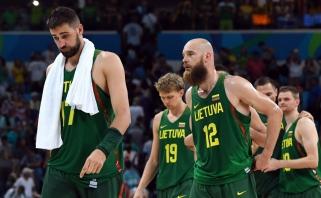 Lietuvos rinktinė liko septinta - geriau nei Londone, bet paskutinė iš Europos ekipų