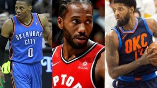 """""""Raptors"""" atsisakė galimybės išsaugoti K.Leonardą bei gauti P.George'ą su R.Westbrooku"""