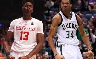 """NBA žvaigždės G.Antetokounmpo brolis pasirašė kontraktą su """"Mavericks"""""""