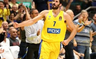 "O.Casspi ir J.DiBartolomeo sugrįžimas pažymėtas nervinga ""Maccabi"" pergale"