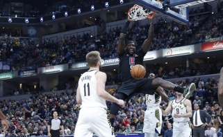 """NBA metų atsarginio žaidėjo titulas - vėl """"Clippers"""" atstovui (sveikinimo video)"""