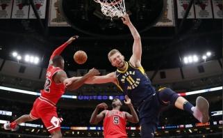 """NBA: D.Sabonio dėjimai ir fantastiškas """"Pacers"""" išsigelbėjimas (rezultatai)"""