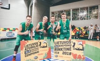 Paaiškėjo Lietuvos atvirojo 3×3 čempionato nugalėtojai bei U-18 rinktinės