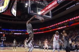 Monstriškas D.Jordano dėjimas - NBA Top 10 viršūnėje