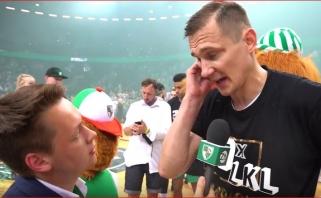 """""""Žalgiris"""" dar kartą tapo Lietuvos čempionu (Jankūno ir Ulanovo video komentarai)"""